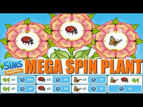 Sims Freeplay   Is the Mega Spin Plant worth 25SP?   Dance Party Update