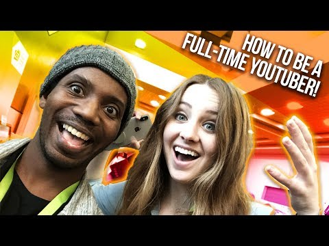 How to Become a Full-Time YouTuber with Sara Dietschy