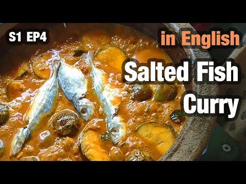 Grandmother's Karuvattu Kulambu - Traditional Salted Fish Curry Recipe  கருவாட்டு குழம்பு