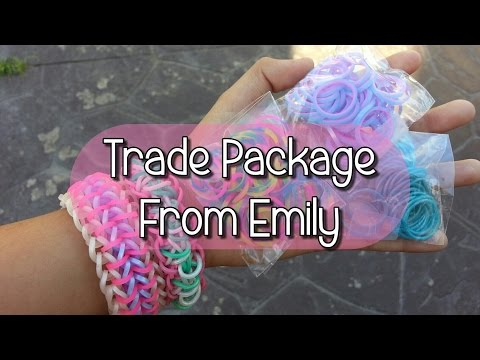 Trade Package From Emily ~ Rainbowloom