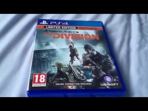 The Division Unboxing PS4