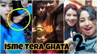 ISME TERA GHAT REPLY 2 | ISME TERA GHATA | 4 GIRLS MOST VIRAL VIDEO