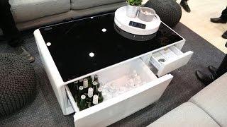 Sobro, la mesa con nevera y altavoces que triunfa en Indiegogo