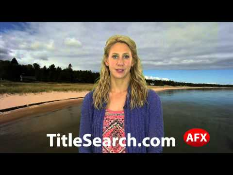Property title records in Cass County Michigan   AFX