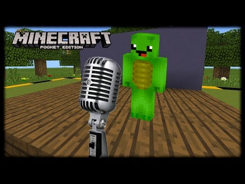 Minecraft PE | How to Make a Working Microphone