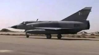 PAF Mirages arriving for Falcon Meet, Jordan, 2010.wmv