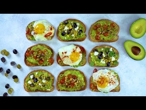 Avocado Toast with Ripe California Olives