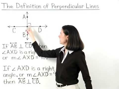 Definition of Perpendicular Lines | MathHelp.com