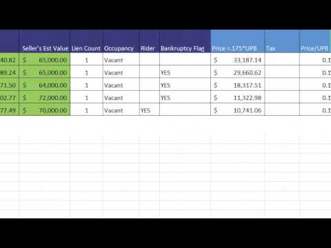 Due Diligence - NP 1st Liens - Video 4 - Checking Property Values and Taxes Due