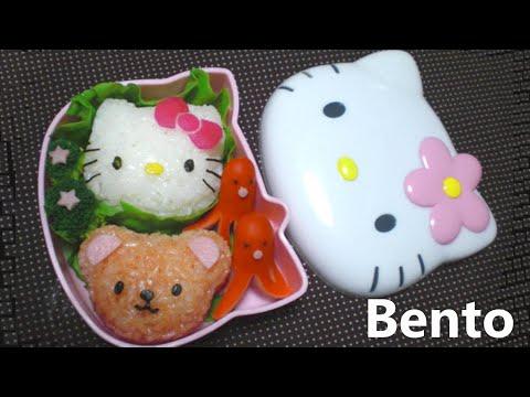 DIY Hello Kitty Bento - Kitty Onigiri (rice ball) mold