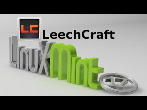 Install LeechCraft (open source modular app) in Linux Mint
