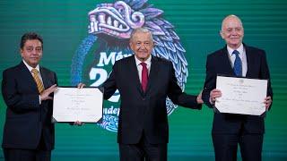 Reconocimiento al Mérito Médico 2021. Conferencia presidente AMLO