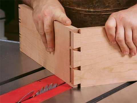 How to Cut Dovetails on a Tablesaw
