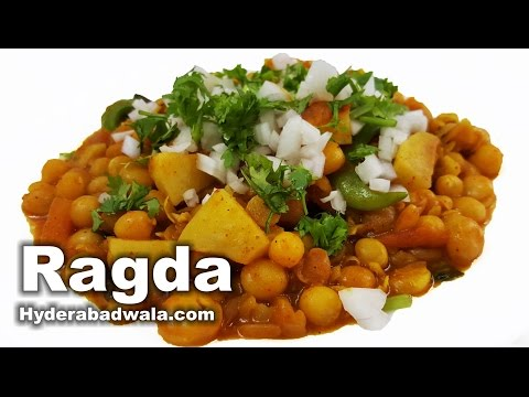 Ragda Recipe Video – How to Make Ragda Chaat at Home – Very Easy & Simple