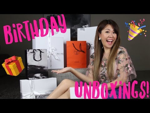 WHAT I GOT FOR MY BIRTHDAY 2017 -   Dior, Hermes & more!