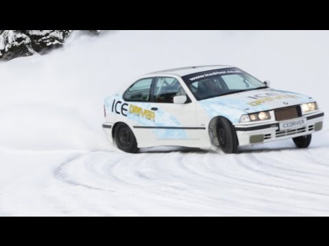 How to Drive a BMW Rally Car Fast on a Frozen Lake | Pole Position