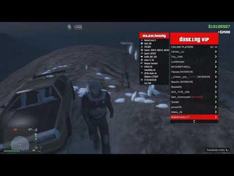 GTA V PC ONLINE 1.42 D3SKING MOD MENU 9.9.2  (MONEY DROP SERVICE) (SAFE & UNDETECTED)