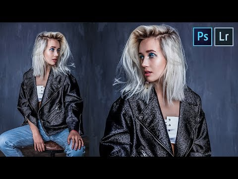 How to Create Stunning Portrait Using Basic Adjustments in Photoshop & Lightroom w/ Free Preset