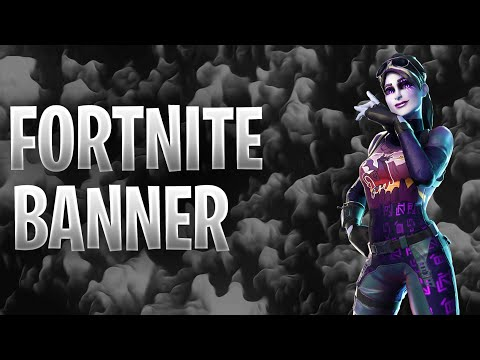 How to make a fortnite banner iOS