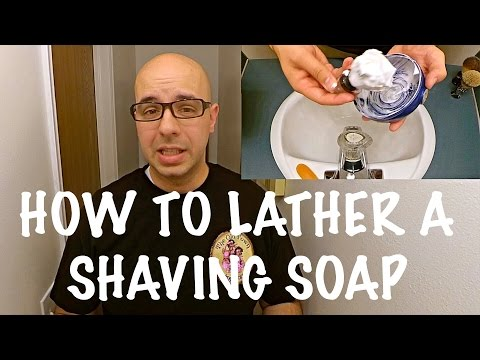 How to Lather a Shaving Soap