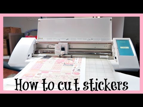 How to cut printable planner stickers | Silhouette Tutorial