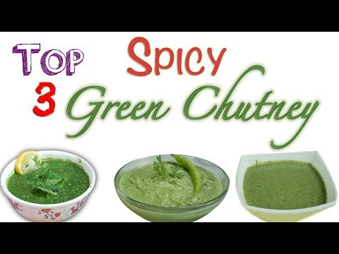 3  Spicy Chutney |  Easy N Quick | Regular for Idli Dosa Sandwich Chat