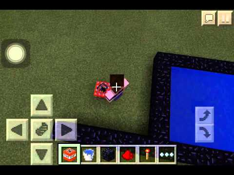 Minecraft Pe| How to make a Steve Cannon!