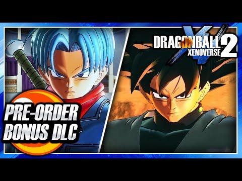 Dragon Ball Xenoverse 2 (PS4): Pre-Order Bonus - Goku Black & Super Future Trunks Gameplay Showcase