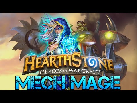Hearthstone Mech Mage/Magier Deck Building Guide   German Let's Play   Matze
