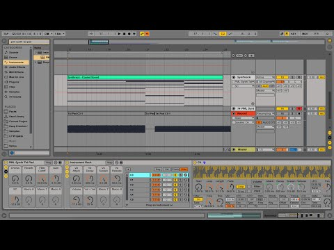 Creating your own Synth with Instrument Racks - Ableton Live 9 Tutorial