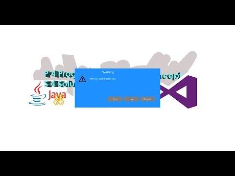How to Create Custom DialogBox(MessageBox) Class C# winform