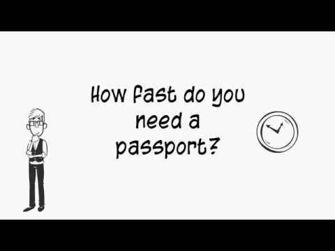 How to Renew an Adult Passport Fast.