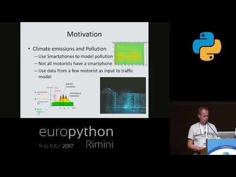 Anders Lehmann - Modelling pollution from traffic, using Smartphone data and Python