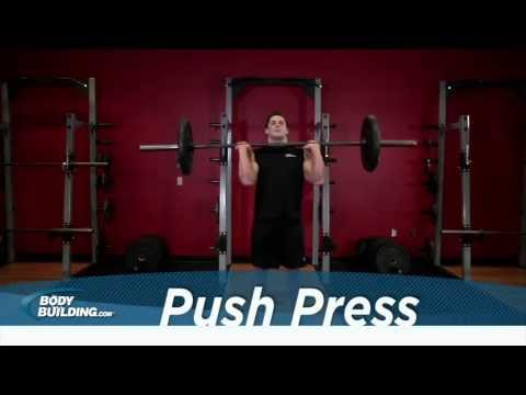 Push Press - Shoulder Exercise - Bodybuilding.com