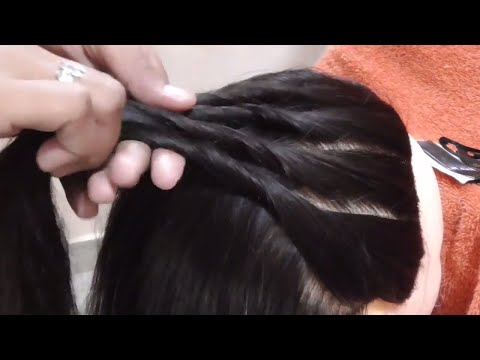 Easy hairstyle For Party || Hairstyle For occasion || Party Updos For Medium Hair