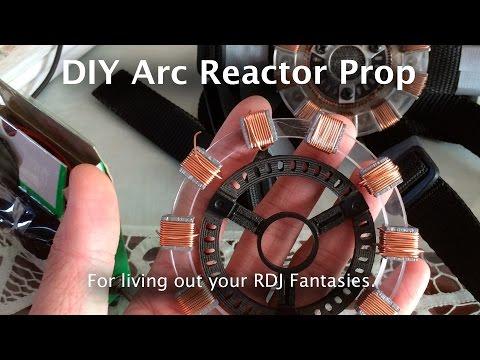 Wearable Iron Man Arc Reactor Prop (CNC'ed Version)