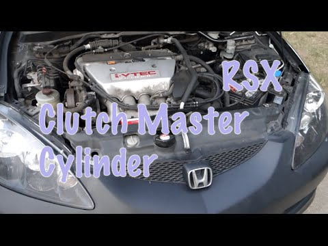 RSX Clutch Master Cylinder install walk through