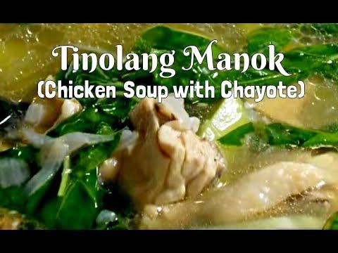 Tinolang Manok (Filipino Chicken Soup).wmv