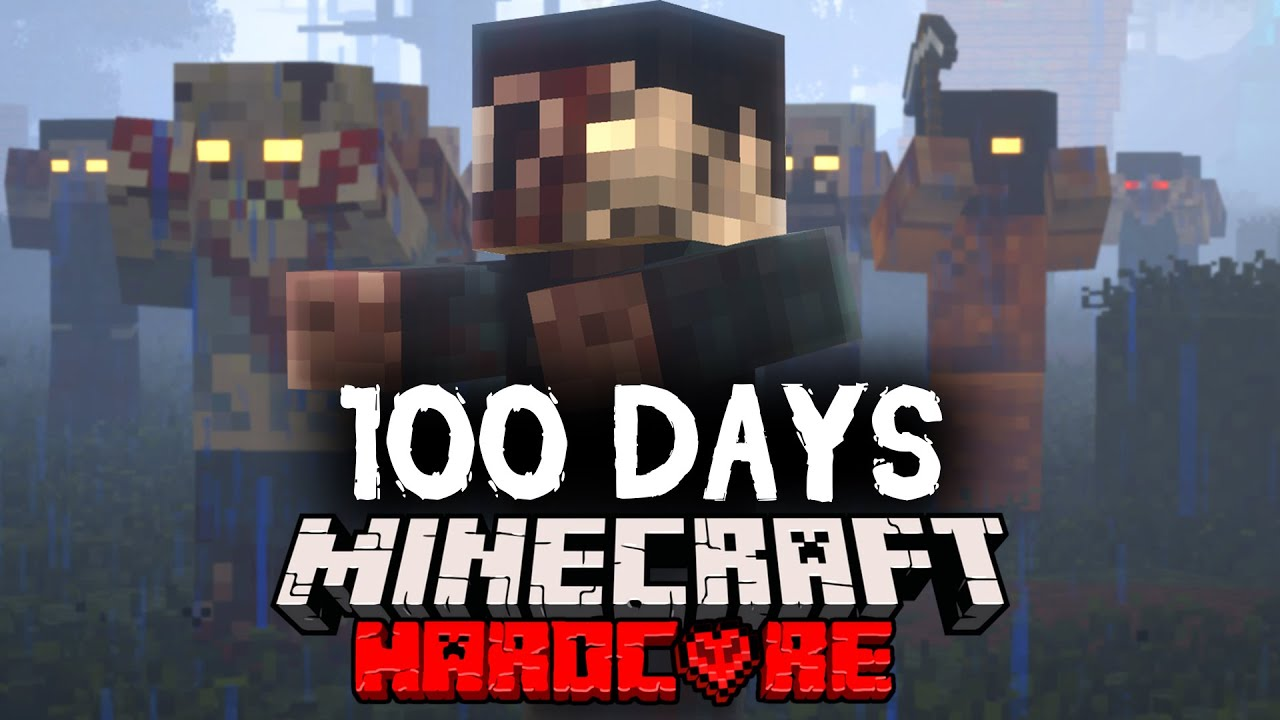 I Spent 100 Days in a Zombie Apocalypse in Minecraft... Here's What Happened