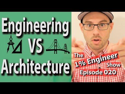 Engineering vs Architecture | Architecture Engineering Work | Civil Engineering vs Architecture