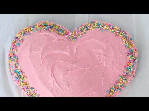 How to Make a Heart Cake for $6