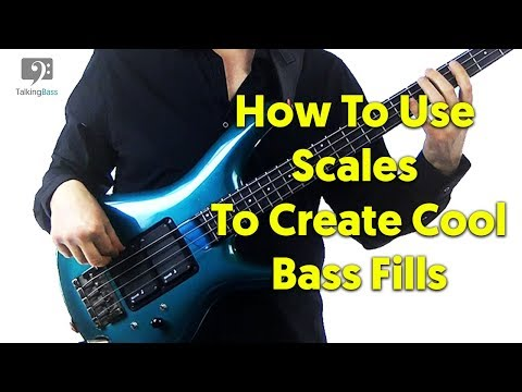 Easiest Way To Create Bass Fills With Scales