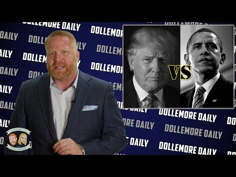 Obama vs Trump - Comparing Each of Their 1st Six Months - #DollemoreDaily