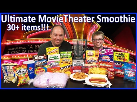 Ultimate Movie Theater Smoothie : Crude Brothers