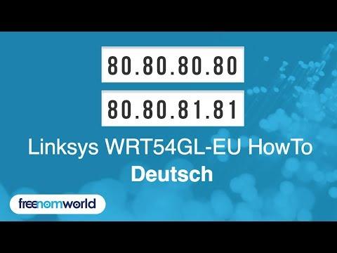 Freenom World Linksys WRT54GL-EU HowTo (German)