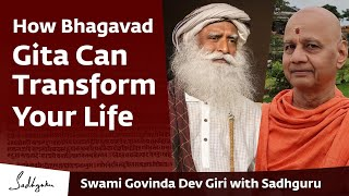 Swami Govinda Dev Giri, Treasurer, Ram Janambhumi & Sadhguru | On the Gita