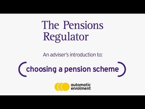 Choosing a pension scheme for automatic enrolment