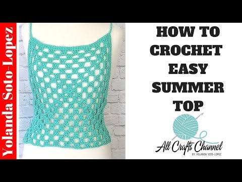 How to Crochet Top using Granny Squares ( Cover up ) pattern