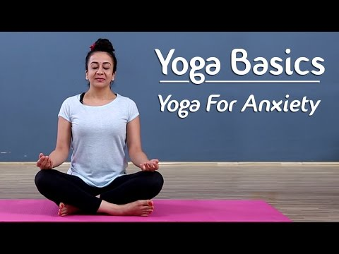 Yoga To Release Anxiety And Stress | Yoga For Beginners - Yoga With AJ | Mind Body Soul