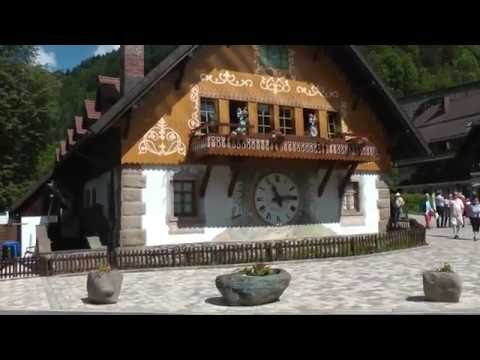 scenes from Hofgut Sternen Village in Germany's Black Forest